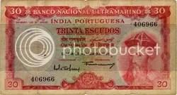 Indo-Portuguese note. That looks like Vasco da Gamma