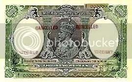 Ten thousand rupee note