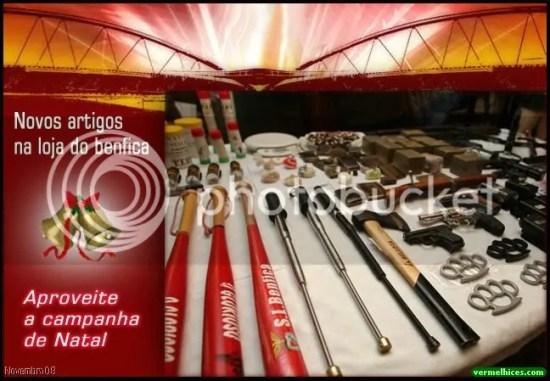 Campanha de Natal da Loja do Benfica