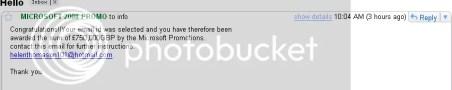 Email da Microsoft