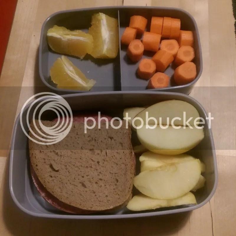 Lunchbox bestücken
