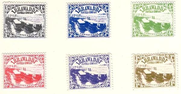 Gerald King - Alternative Burma - 1898 Irrawaddy Flotilla Company