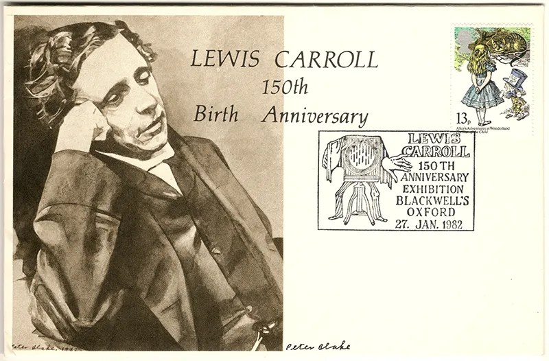 Gerald King - Lewis Carroll 150th Birth Anniversary - Cover (Front) - Signed by Sir Peter Blake