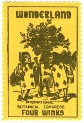 Gerald King - Wonderland Stamps - 1st Printing - Catalog no. 11