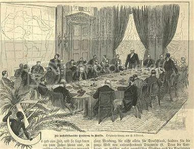 The Berlin Conference on partition of Africa, 1884