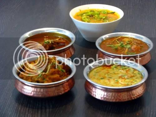 Indian curries (via Wikipedia)