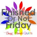 Finished or Not Friday at Busy Hands Quilts