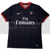 Nike PSG 09/10 Home and Away Kits