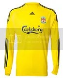 Liverpool FC Adidas 2009-10 Away Kit