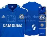 Chelsea FC Adidas 2009-10 Home Kit