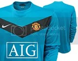 Manchester United 09/10 Nike Away Kit
