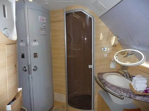 Etihad First Class Shower Here's Why Airbus Says...