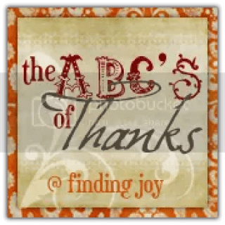 Finding Joy | The ABC's of Thanks