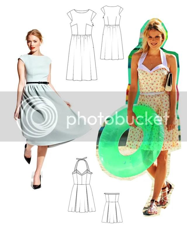 Naaiplannen - patronen Burda Style 08/2012 & 06/2011