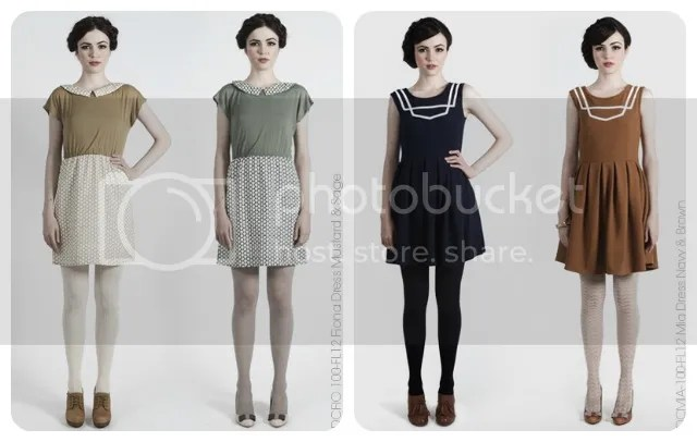 Dear Creatures Autumn 2012 Dresses