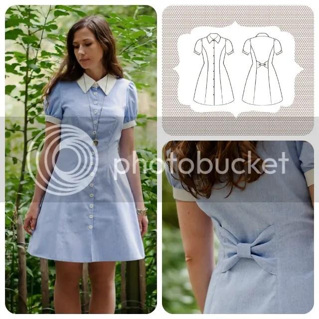 Deer and Doe - Bleuet Dress