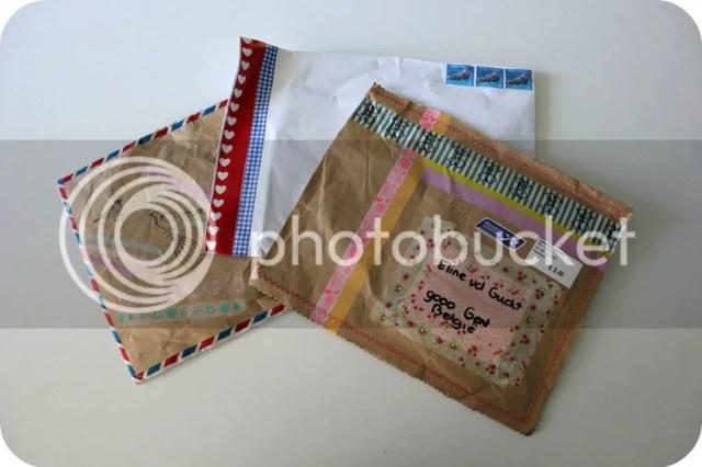 SWAP - ontvangen pakjes