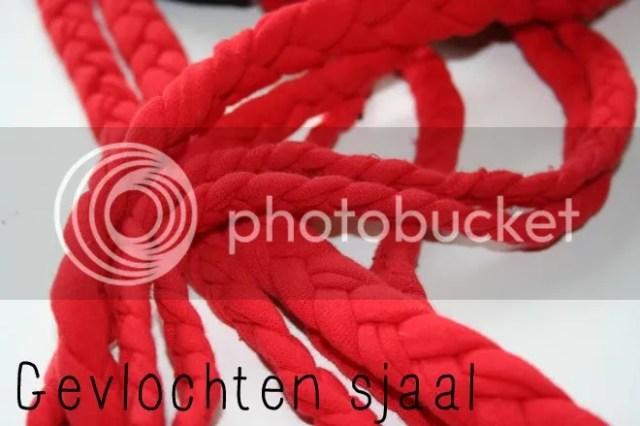 Tutorial - Gevlochten Sjaal