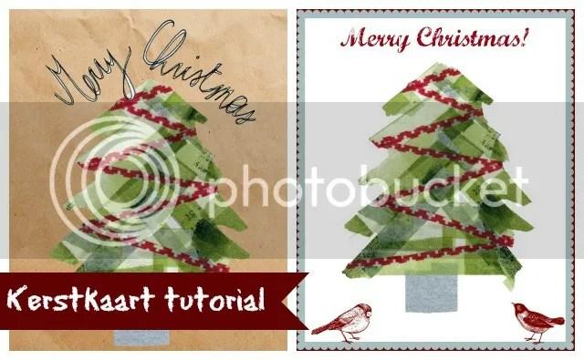 Tutorial - Kerstkaartjes ontwerpen