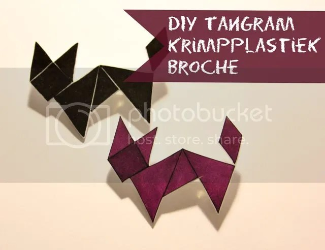 DIY Krimpplastiek Broche