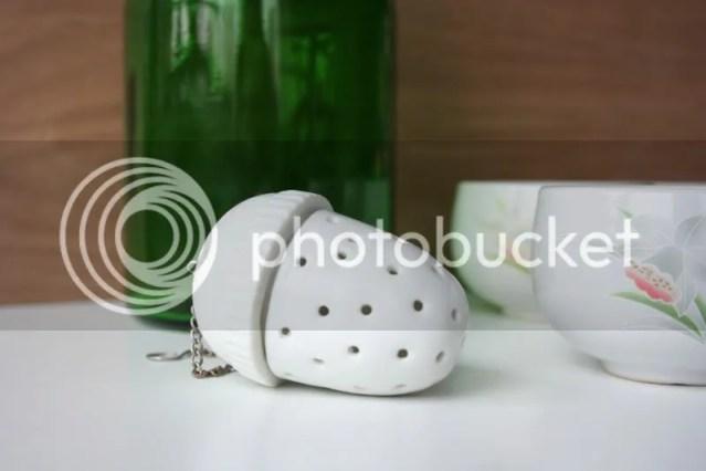 Keramieken thee-ei