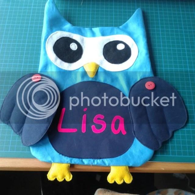 Owl Pillow / Uil Kussen WIP