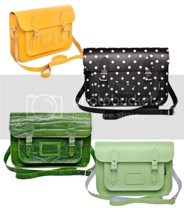 Pretty Things - Leather Satchels