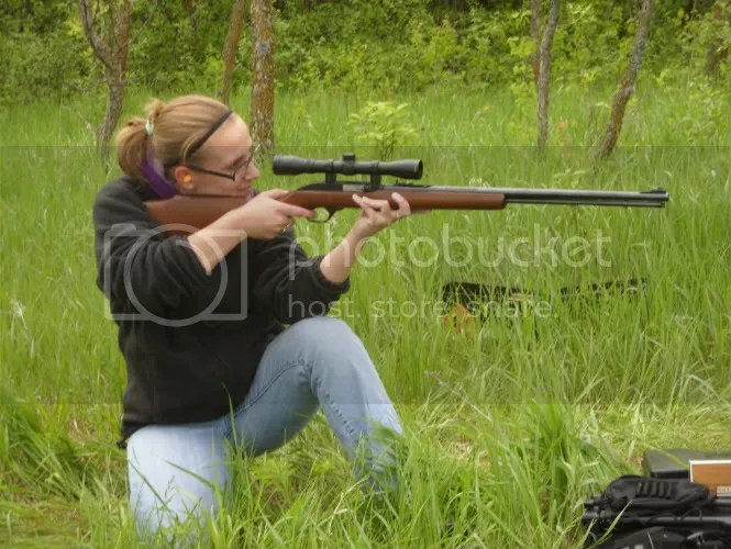 Heather and the Marlin Model 60