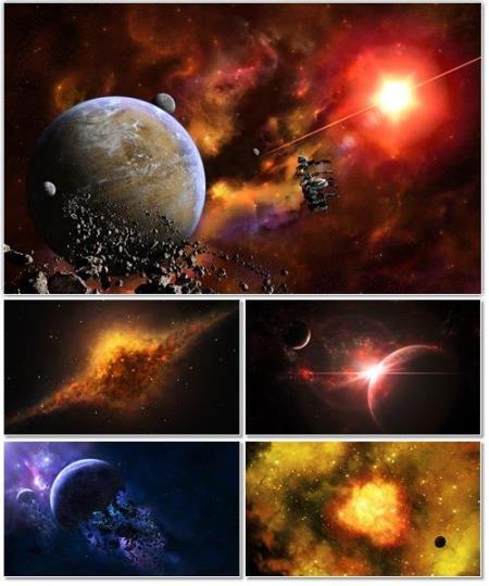 Коллекция обоев на тему Космос. Часть №8