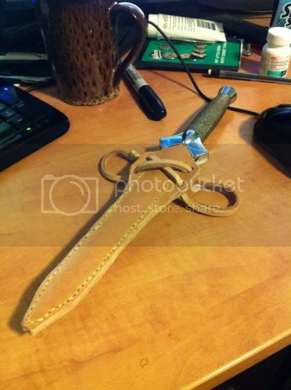 New dagger sheath