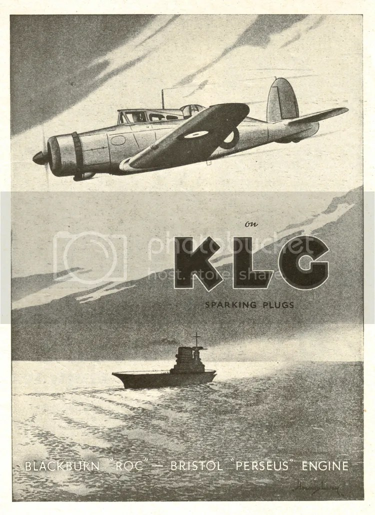 Blackburn Roc advert KLG spark plugs