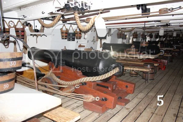 Warrior gundeck