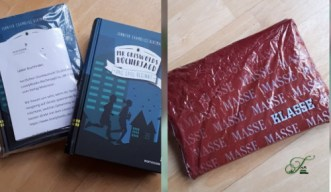 Buch verpackt