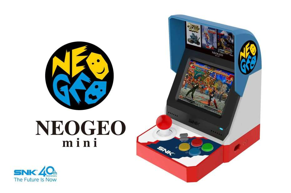 neo geo mini, Neo Geo Mini: Prime immagini e dettagli