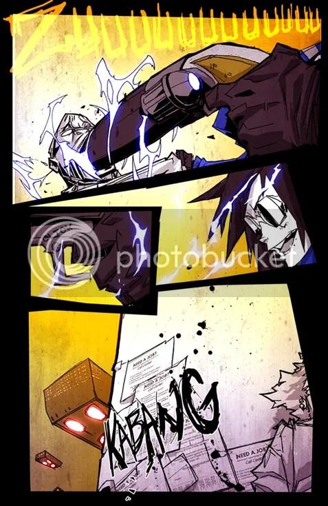 Violator Union Comic Page Sample