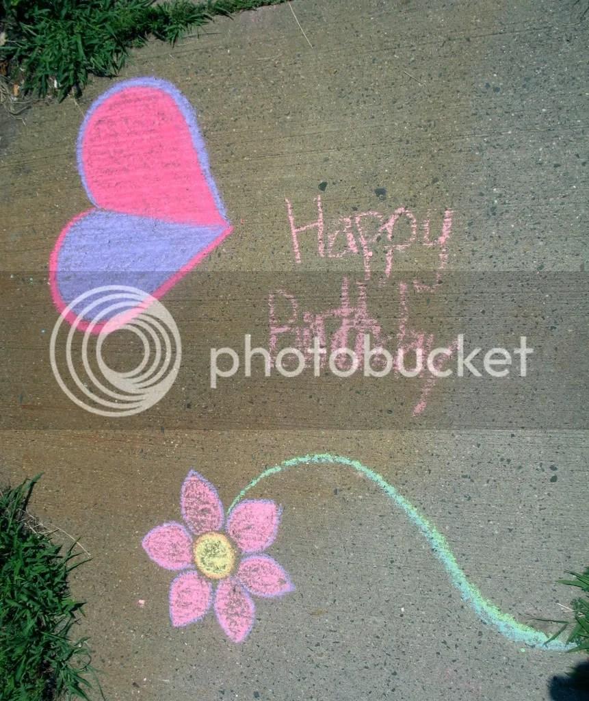 sidewalk drawing by Joey and StephG