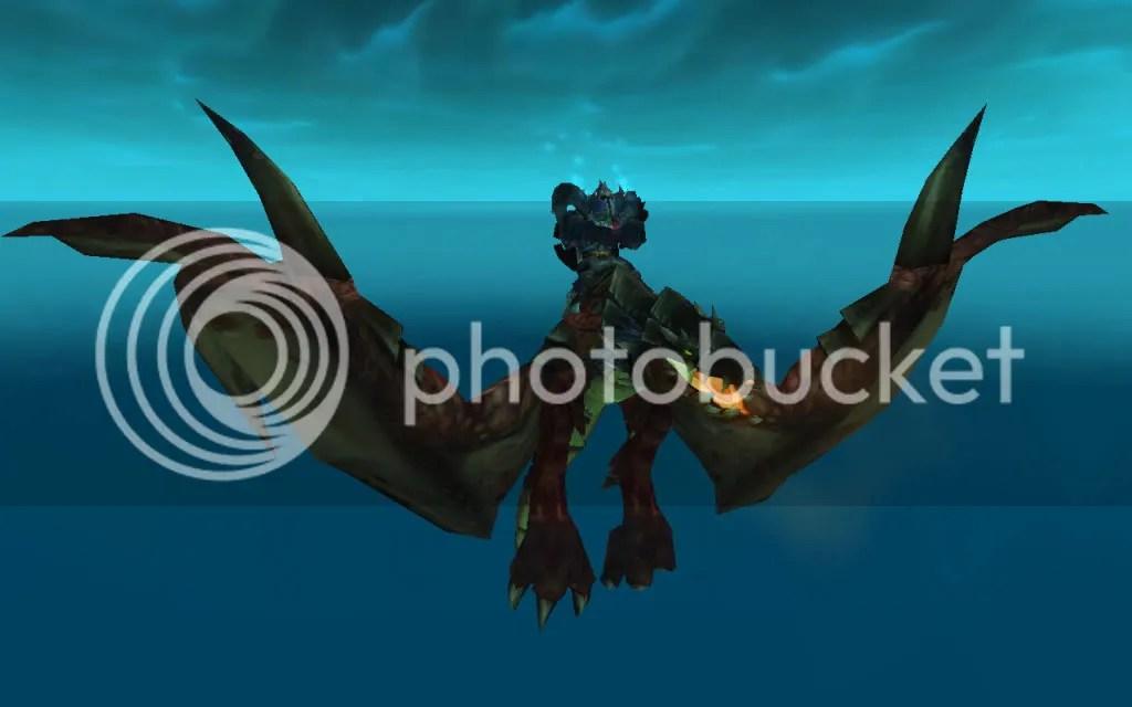Ruby, at full wingspan