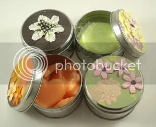 Soap gift tin