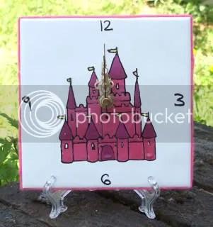 Fairy Castle Clock