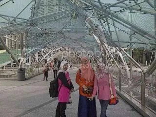 Double Helix Bridge