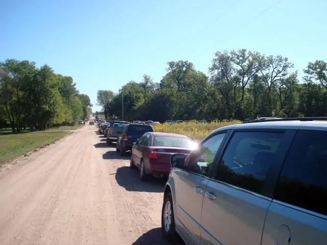 Barn_Sale_Parking
