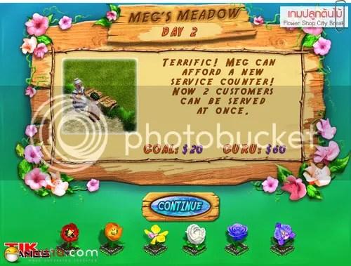 เกม, เกมปลูกต้นไม้, เกมขายดอกไม้, Flower Shop, City Break, ต้นไม้, ดอกไม้, aKitia.Com