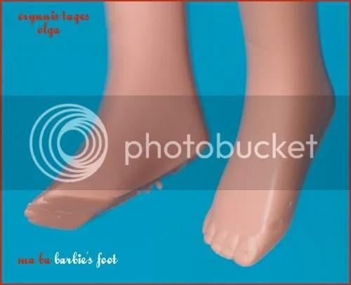 Ma-ba Barbie feet