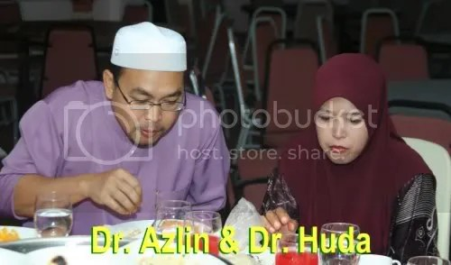 Dr. Azlin and wife, Dr. Huda, courtesy Darussyifa.org
