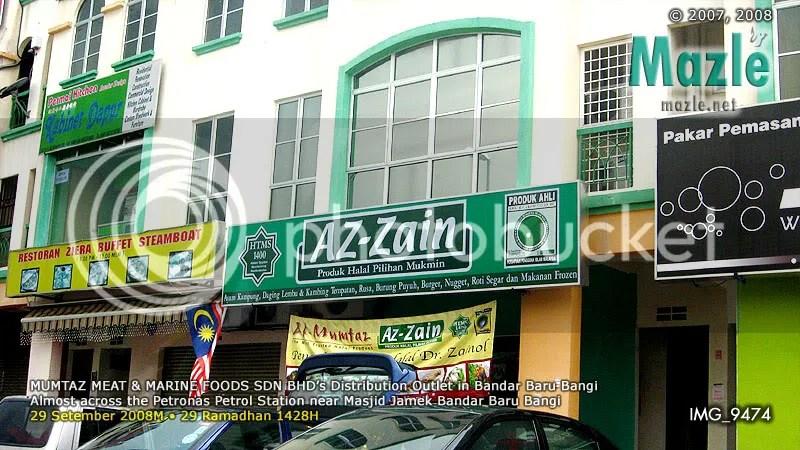 Az-Zain outlet in BBBangi