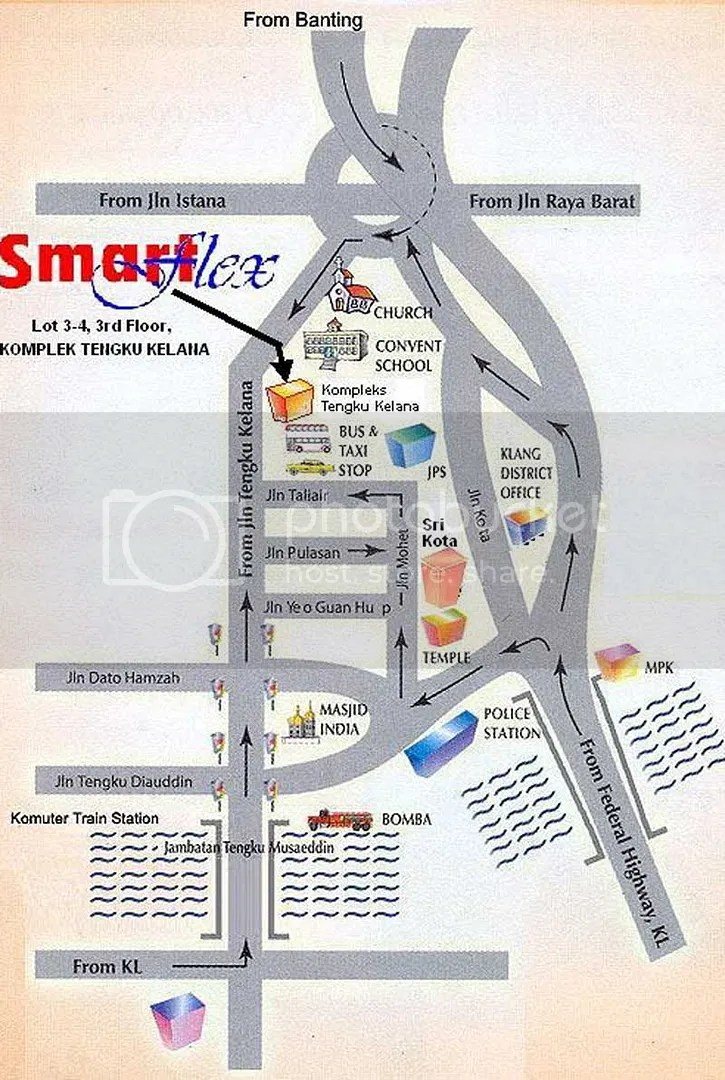 Map to Iftar