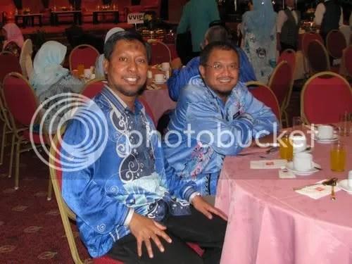 Prof Madya Ainullotfi bin Abdul Latif (YDP JIM Johor) dengan Hamizan Haidzir