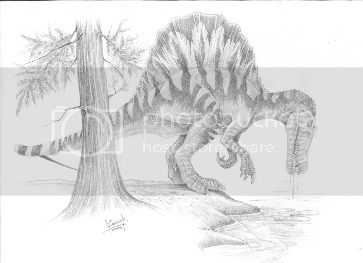 Spinosaurus2 Photo By T Pekc