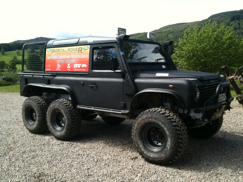 1000 images about Land Rover 6x6 on Pinterest