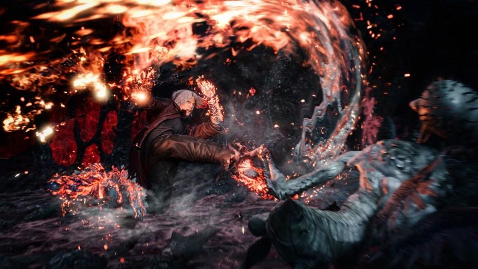 devil may cry 5, Devil May Cry 5: Uno spettacolare Dante al TGS 2018